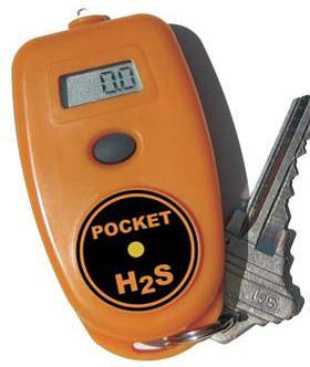 H2S 300 kulilte alarm - detektor, måler