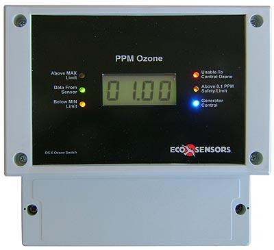 ozonstyring med relæ, og ozonalarm